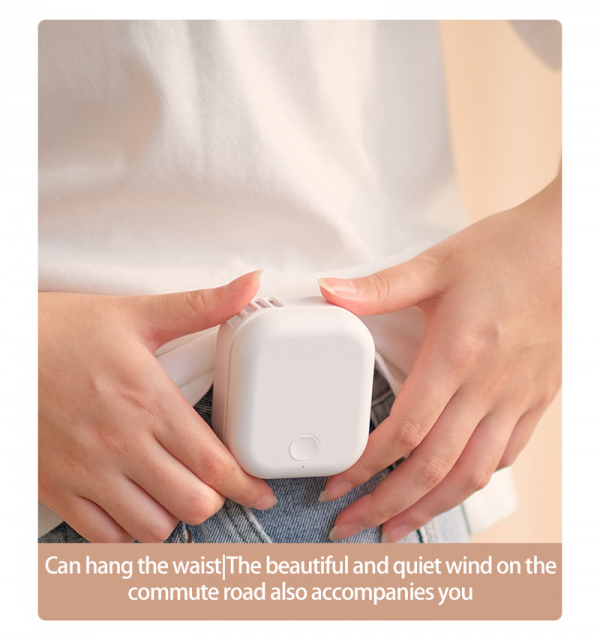 Electric Fan 3 Levels Of Adjustable USB Charging Wind Mute 1
