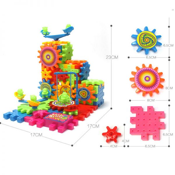 Electric Gears Kids Learning Toys 3
