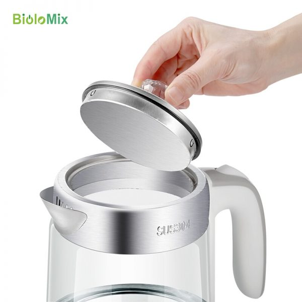 Electric Kettle Cordless Glass Heater 1