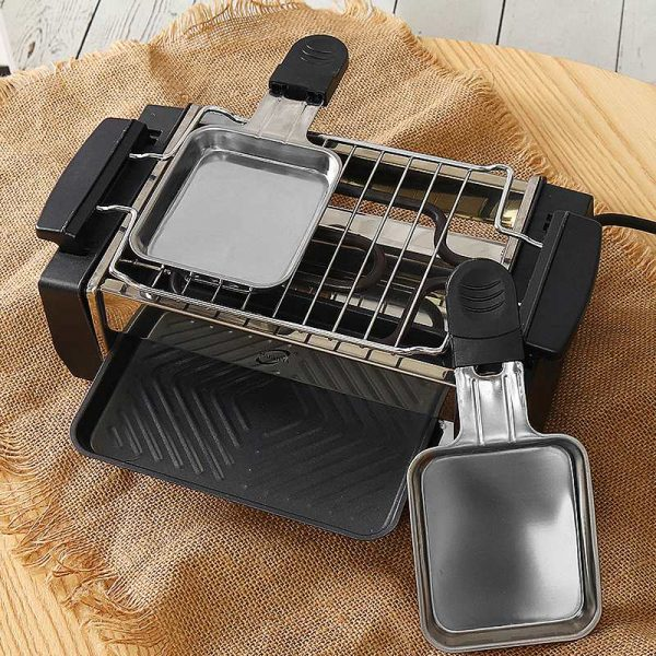 Electric Smokeless Grill Kitchen Appliance