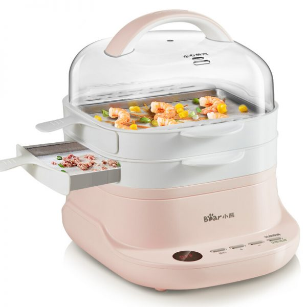 Electric Steam Cooker Food Steamer 2