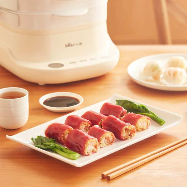 Electric Steam Cooker Food Steamer 3