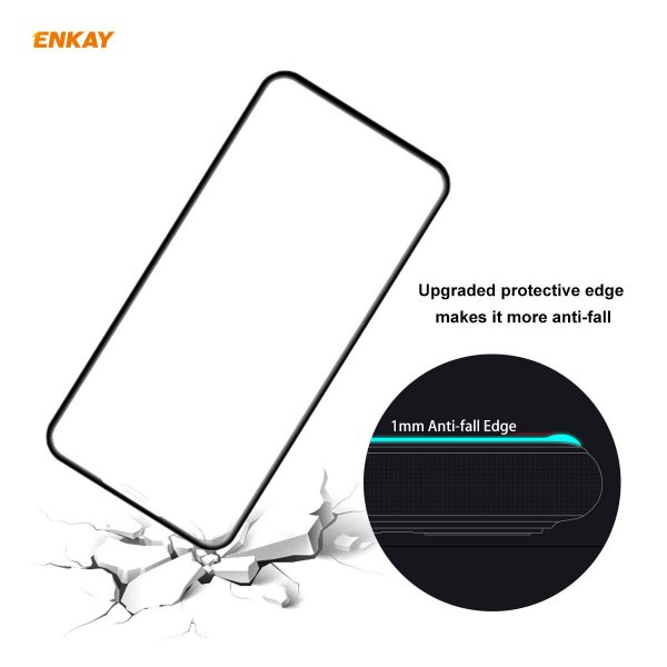 Enkay 125 Pcs for iPhone 11 Pro Max XS Max Front Flim 9H Anti Explosion Full Coverage Tempered Glass Screen Protector 1