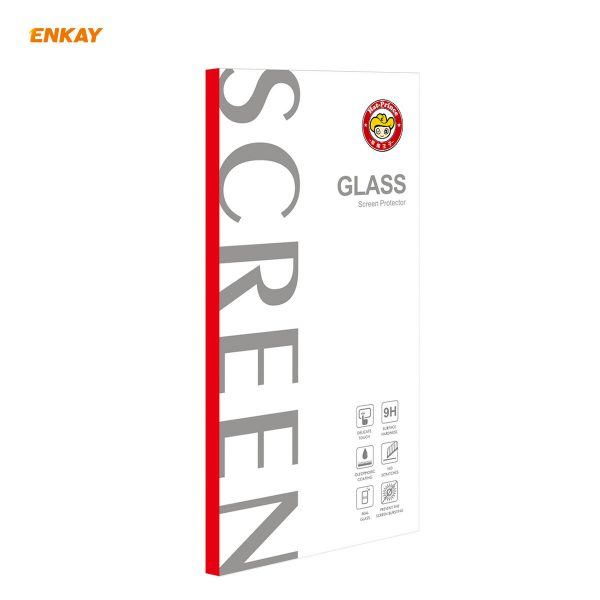 Enkay 12510Pcs Crystal Clear 2.5D Curved Edge 9H Anti Explosion Anti Scratch Tempered Glass Screen Protector for iPhone 12 Pro 12 7
