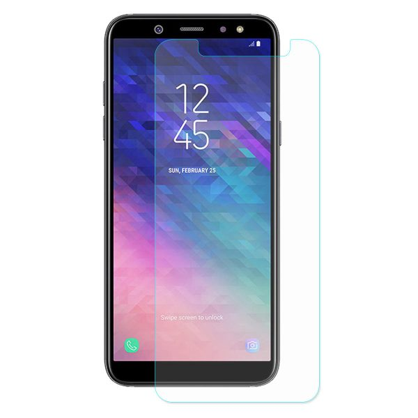 Enkay Tempered Glass Screen Protector For Samsung Galaxy A6 Plus 2018 0.26mm 2.5D Curved Edge 9H