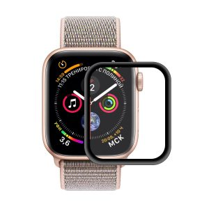 Enkay Tempered Glass Watch Screen Protector For Apple Watch Series 4/Apple Watch Series 5 40mm 0.2mm 3D Curved Edge 9H Film