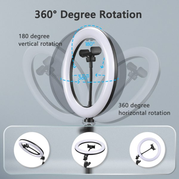 Exciting Selfie Ring Light With Mobile Holder 10