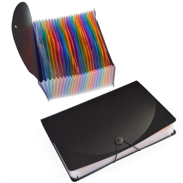 Expanded Folder with Cover (24 Pockets)