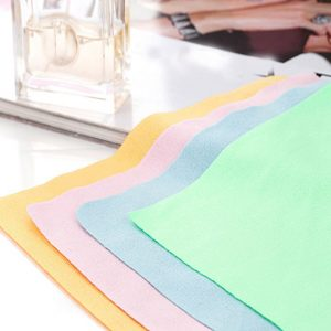 Eyeglass Cleaning Cloth Lens Cleaning Wipes (Set of 5)