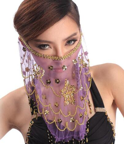 Face Veil Belly Dancing Costume 1