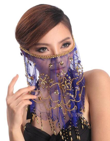 Face Veil Belly Dancing Costume 2