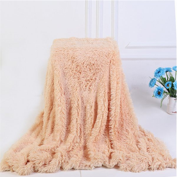 Faux Fur Blanket Extra Soft Material 1