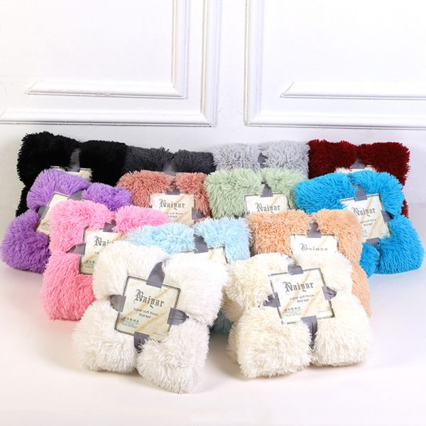 Faux Fur Blanket Extra Soft Material 2