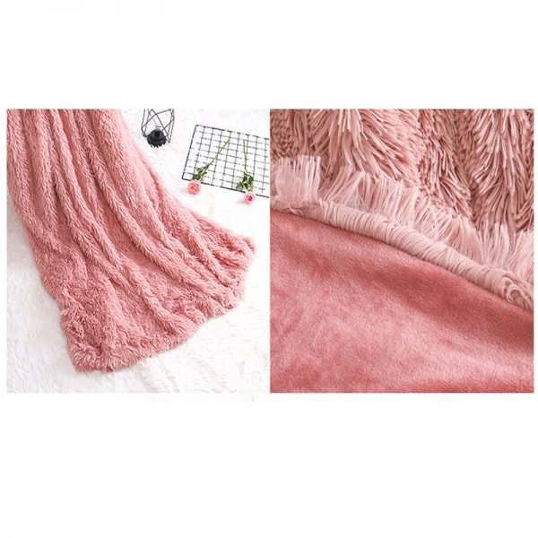 Faux Fur Blanket Extra Soft Material 3