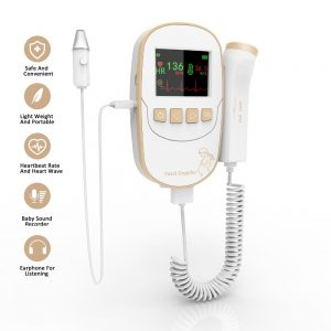 Fetal Doppler With Ear Thermometer