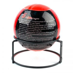 Fire Extinguisher Ball Protection Device
