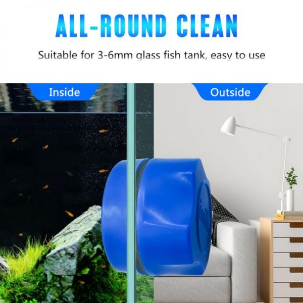 Fish Tank Glass Cleaner Magnet Tool 4
