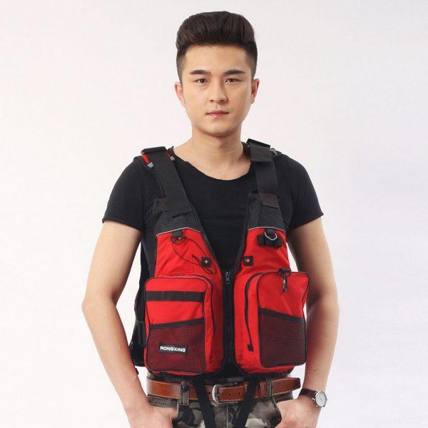 Fishing Life Jacket Breathable Vest