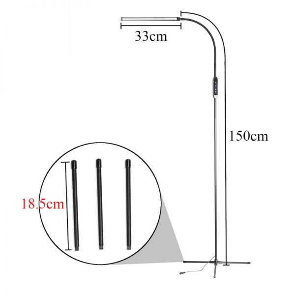 Floor Reading Lamp Stand Alone Lamp 1
