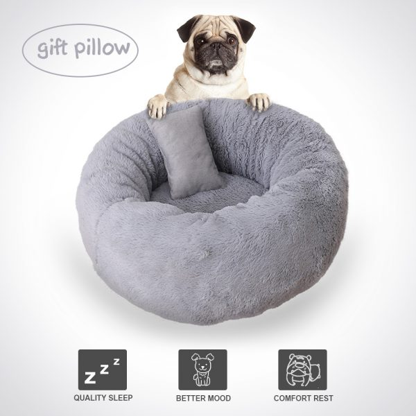 Fluffy Cat Bed Pet Cushion