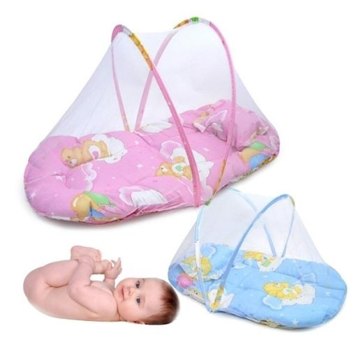 Foldable Baby Bed with Net 4