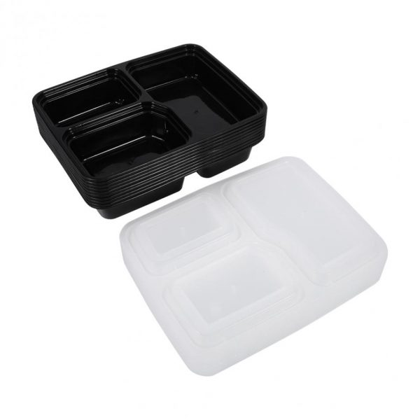 Food Prep Containers Storage Box Set of 10 1