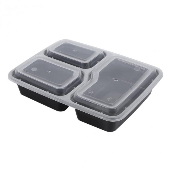 Food Prep Containers Storage Box Set of 10 4