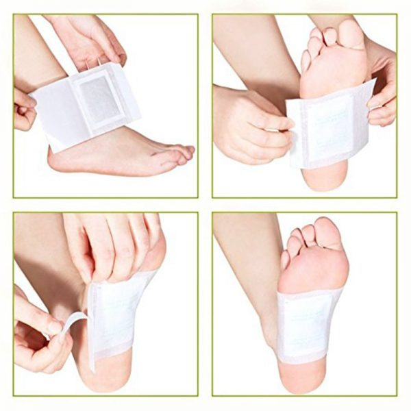 Foot Toxin Pads Detox Patch 10 pieces 2