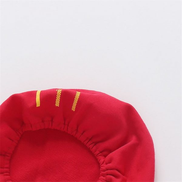 French Fry Costume Infant Jumpsuit with Cap 4