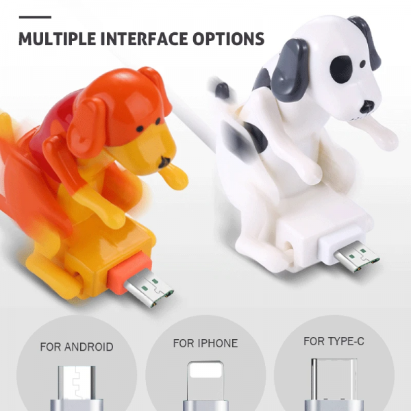 Funny Humping Dog Fast Charging Line