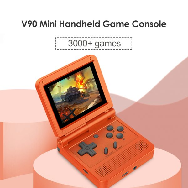 Games Console 3 inch IPS LCD Retro Flip Portable Pocket Mini Video Game Player 3