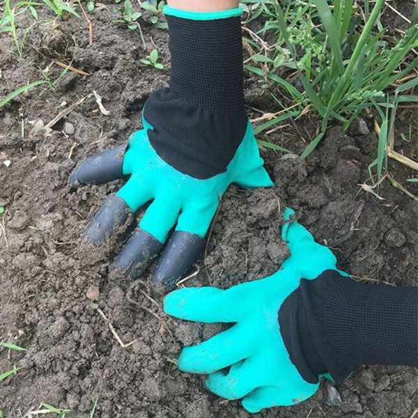 Garden Gloves with Fingertips Claws 1