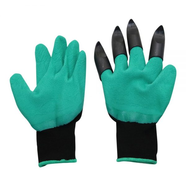 Garden Gloves with Fingertips Claws 2