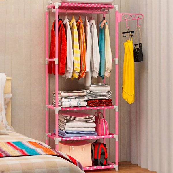 Garment Rack Portable Clothes Stand