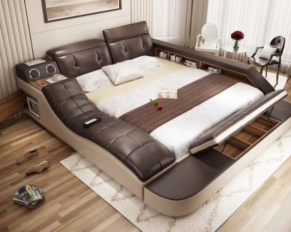 Genuine Leather Ultimate Bed 2