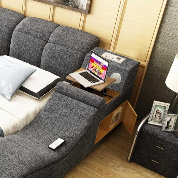 Genuine Leather Ultimate Bed 3