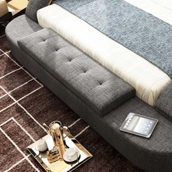 Genuine Leather Ultimate Bed 4