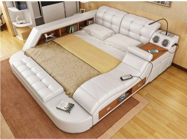 Genuine Leather Ultimate Bed 5