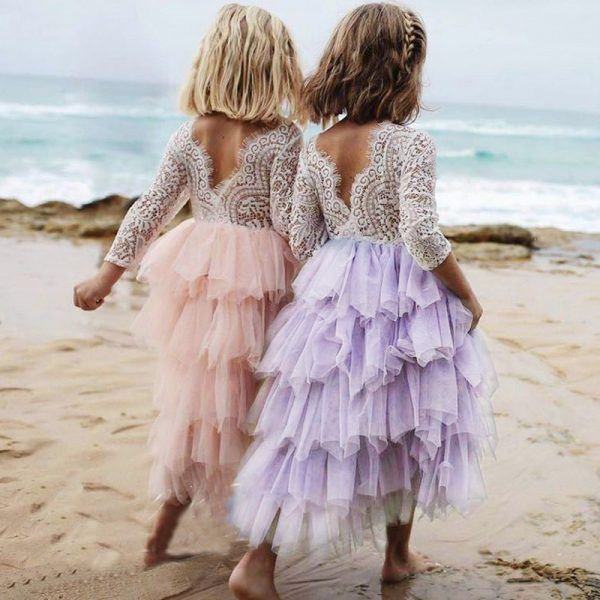 Girls Party Princess Outfit Dress