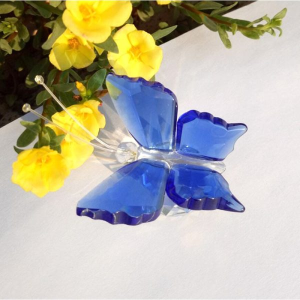 Glass Butterfly Paperweight 1