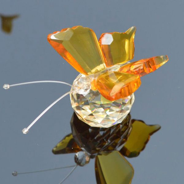 Glass Butterfly Paperweight 2