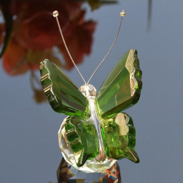 Glass Butterfly Paperweight 3