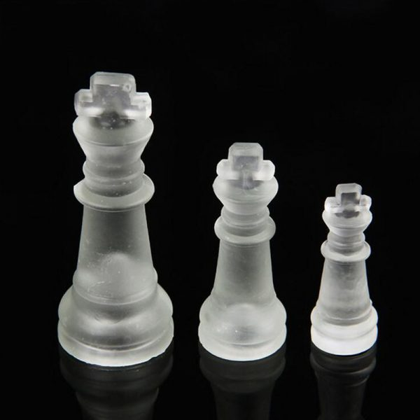 Glass Chess Set Board Game 2
