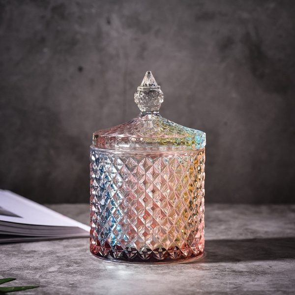 Glass Jar With Lid Storage Container 1