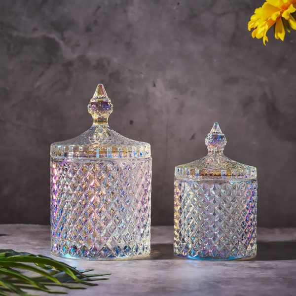 Glass Jar With Lid Storage Container 2