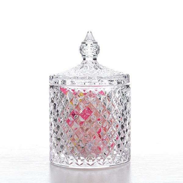 Glass Jar With Lid Storage Container 3