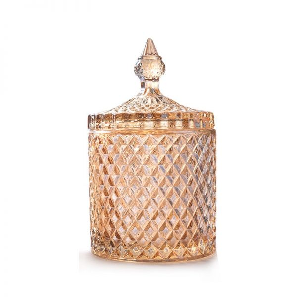 Glass Jar With Lid Storage Container 4