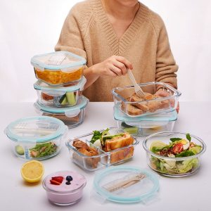 Glass Lunch Box Food Container - HOLD