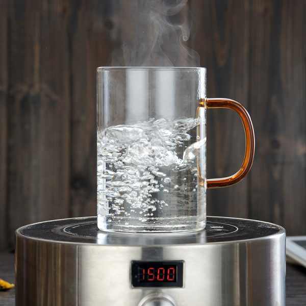 Glass Tea Infuser Cup with Cover 3