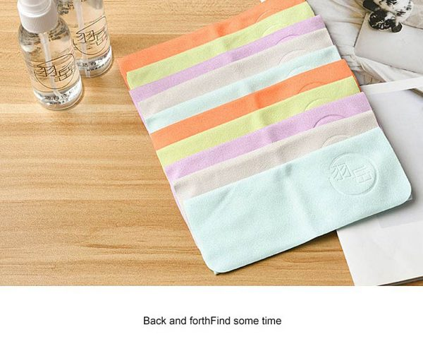Glasses Cleaning Cloth Set (10 Pieces)